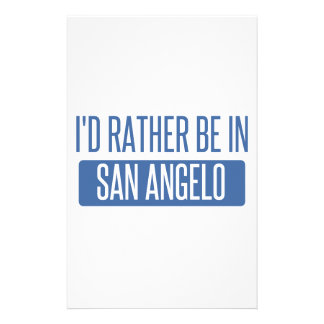 I'd rather be in San Angelo Stationery