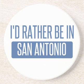 I'd rather be in San Antonio Coaster