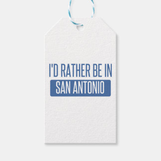 I'd rather be in San Antonio Gift Tags