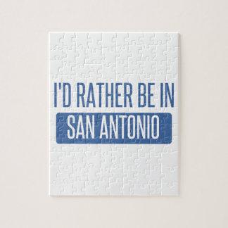 I'd rather be in San Antonio Puzzle