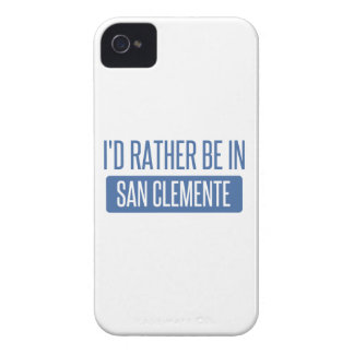 I'd rather be in San Clemente iPhone 4 Cover