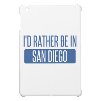 I'd rather be in San Diego iPad Mini Covers