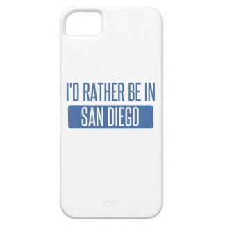 I'd rather be in San Diego iPhone 5 Cases