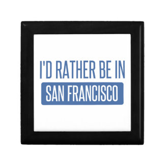 I'd rather be in San Francisco Gift Box
