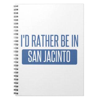 I'd rather be in San Jacinto Spiral Notebook