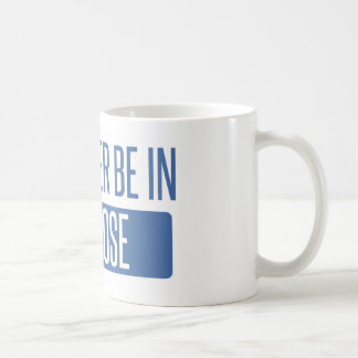 I'd rather be in San Jose Coffee Mug