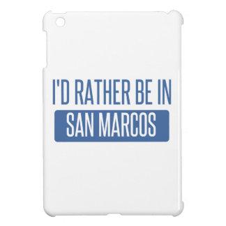 I'd rather be in San Marcos CA iPad Mini Case