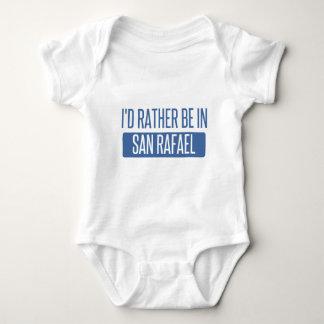I'd rather be in San Rafael Baby Bodysuit