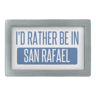 I'd rather be in San Rafael Belt Buckle
