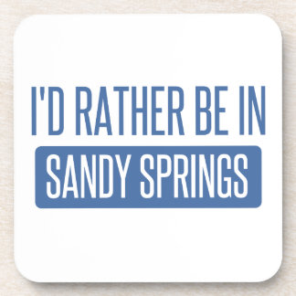 I'd rather be in Sandy Coaster