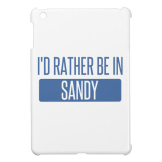 I'd rather be in Sandy Springs iPad Mini Cover