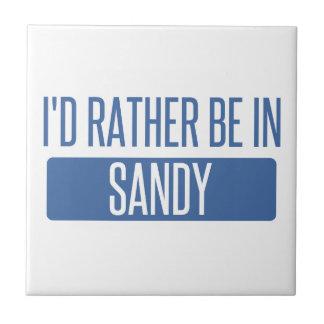 I'd rather be in Sandy Springs Tile