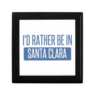 I'd rather be in Santa Clara Gift Box