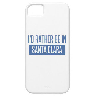 I'd rather be in Santa Clara iPhone 5 Covers