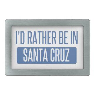 I'd rather be in Santa Cruz Belt Buckle
