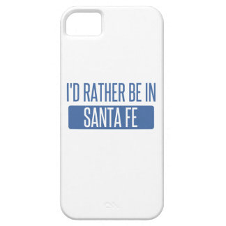 I'd rather be in Santa Fe iPhone 5 Cover