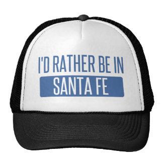 I'd rather be in Santa Fe Trucker Hat