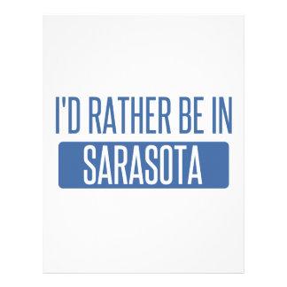 I'd rather be in Sarasota Letterhead