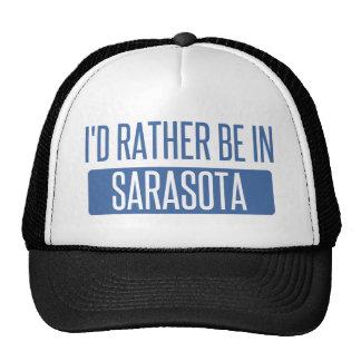 I'd rather be in Sarasota Trucker Hat