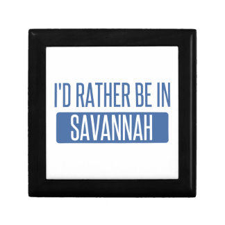 I'd rather be in Savannah Jewelry Boxes