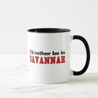 I'd Rather Be In Savannah Mug
