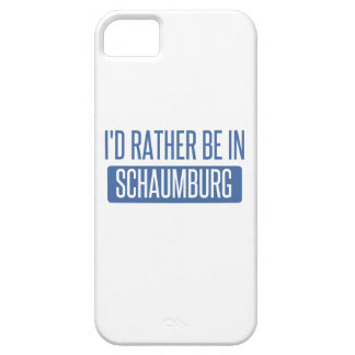 I'd rather be in Schaumburg iPhone 5 Cases