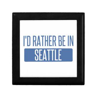 I'd rather be in Seattle Gift Box