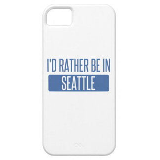 I'd rather be in Seattle iPhone 5 Cover