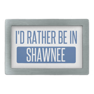 I'd rather be in Shawnee Belt Buckles