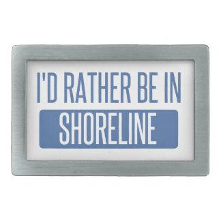 I'd rather be in Shoreline Belt Buckle