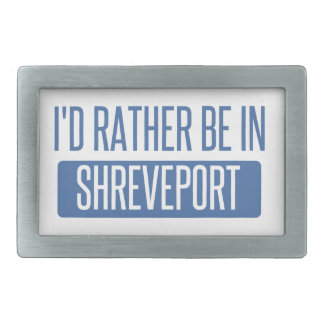 I'd rather be in Shreveport Belt Buckles