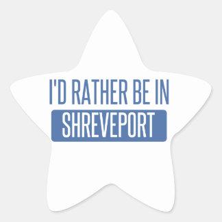 I'd rather be in Shreveport Star Sticker