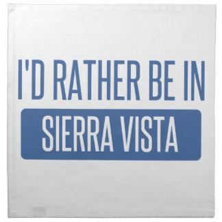 I'd rather be in Sierra Vista Printed Napkins