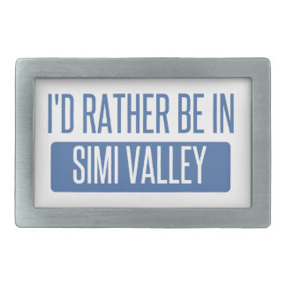 I'd rather be in Simi Valley Belt Buckles