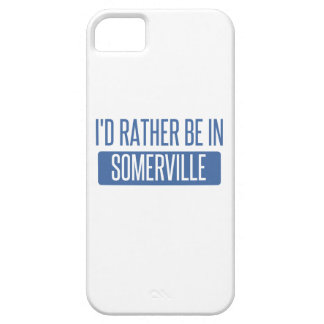 I'd rather be in Somerville iPhone 5 Case