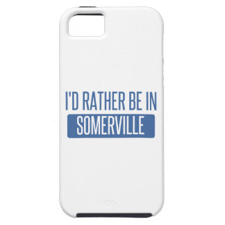 I'd rather be in Somerville iPhone 5 Cover