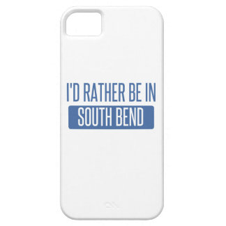 I'd rather be in South Bend iPhone 5 Case