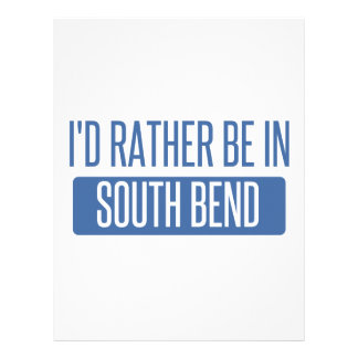I'd rather be in South Bend Letterhead