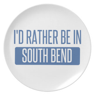 I'd rather be in South Bend Plate
