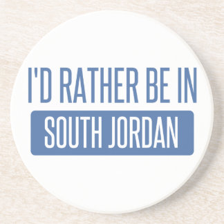 I'd rather be in South Jordan Drink Coasters