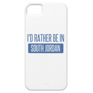 I'd rather be in South Jordan iPhone 5 Case