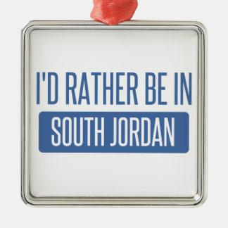 I'd rather be in South Jordan Metal Ornament