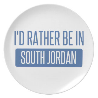 I'd rather be in South Jordan Plate