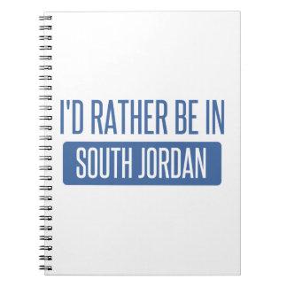 I'd rather be in South Jordan Spiral Notebook