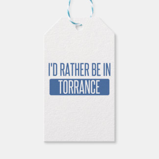 I'd rather be in Torrance Gift Tags