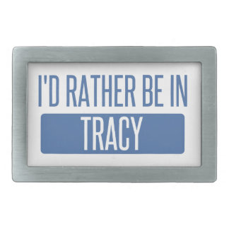 I'd rather be in Tracy Belt Buckles