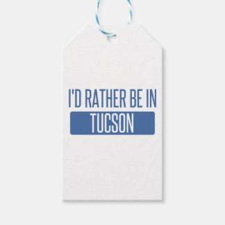 I'd rather be in Tucson Gift Tags