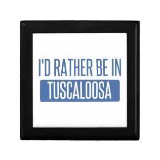 I'd rather be in Tuscaloosa Trinket Box