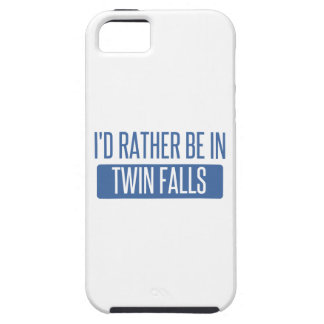 I'd rather be in Twin Falls iPhone 5 Covers