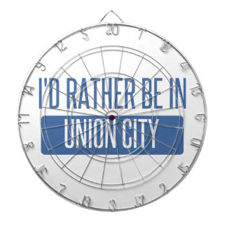 I'd rather be in Union City CA Dartboard